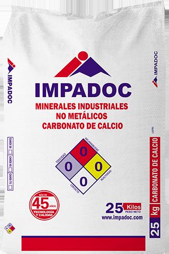 empaque CARBONATO DE CALCIO CAREX 38